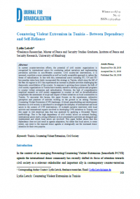 Противодействие насильственному экстремизму в Тунисе: между зависимостью и самостоятельностью (Lydia Letsch, Journal for Deradicalization, #17, 2018/19)