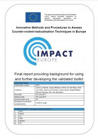 Инновационные методы и процедуры оценки техник противодействия насильственной радикализации в Европе (RAND Corporation, 2017)