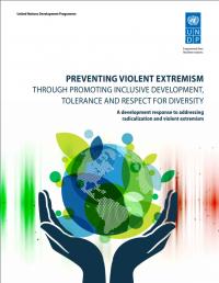 Предотвращение насильственного экстремизма через продвижение инклюзивного разватия и уважение разнообразия, развитие как ответ на радикализацию и насильственный экстремизм(UNDP, 2016)