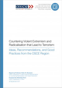 Противодействие насильственному экстремизму и радикализации, ведущей к терроризму: идеи, рекомендации и хорошие практики из региона ОБСЕ (P. R. Neumann, S. Kurz, OSCE-ICSR, 2017)