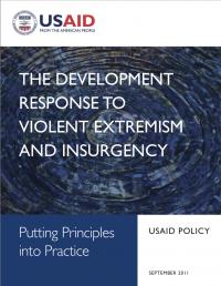 Развитие как ответ на насильственный экстремизм и беспорядки (USAID, 2011)