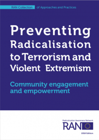 Предотвращение радикализации к терроризму и насильственному экстремизму. Вовлечение сообществ и расширение их возможностей (Radicalization Awareness Network, 2018)