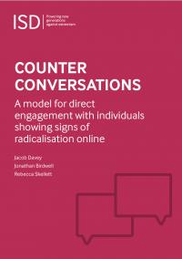 Контр-диалоги: модель прямого вовлечения с теми, кто демонстрирует знаки радикализации онлайн (Jacob Davey, Jonathan Birdwell, Rebecca Skellett, ISD Global, 2018)
