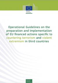 Оперативное руководство по подготовке и осуществлению финансируемых ЕС действий, направленных на борьбу с терроризмом и насильственным экстремизмом в третьих странах (Европейская комиссия, 2017)