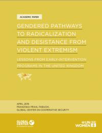 Гендерные пути к радикализации и противодействию насильственному экстремизму (Franziska Praxl-Tabuchi, Global Center on Cooperative Security, 2019)