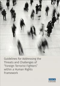 Руководства по устранению угроз и вызовов «иностранных боевиков-террористов» в контексте системы прав человека (ОБСЕ, 2018)