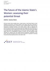Будущее женщин Исламского государства: оценка потенциально исходящей от них угрозы (Jessica Davis, ICCT, 2020)