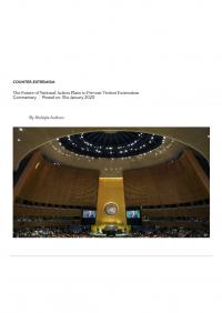 Будущее национальных планов действий по предотвращению насильственного экстремизма (Tony Blair Institute for Global Change, 2020)