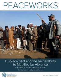 Перемещение и уязвимость к мобилизации для насилия: данные из Афганистана (Sadaf Lakhani; Rahmatullah Amiri, USIP, 2020)